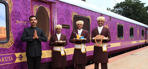 Welcome Aboard The Golden Chariot Luxury Train