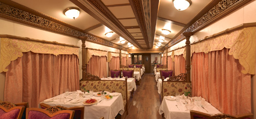Golden Chariot Train Restaurant