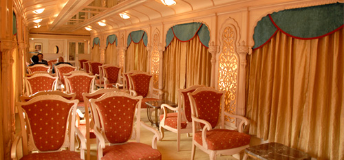 Golden Chariot Train Lounge